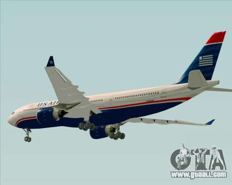 Airbus A330-200 US Airways for GTA San Andreas engine