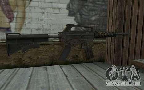 CAR-15 from Battlefield: Vietnam for GTA San Andreas second screenshot