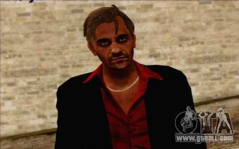 Hoyt Volker (Far Cry 3) for GTA San Andreas third screenshot