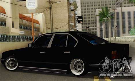 BMW 535 JDM Bosnia for GTA San Andreas left view