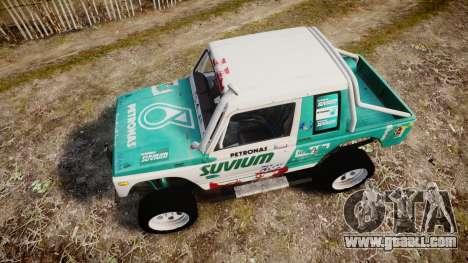 Suzuki Samurai for GTA 4 right view