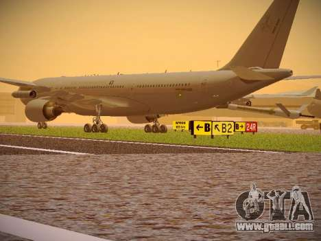 Airbus KC-45A (A330-203) Australian Air Force for GTA San Andreas right view