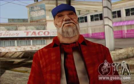 Vagabonds Skin 3 for GTA San Andreas third screenshot