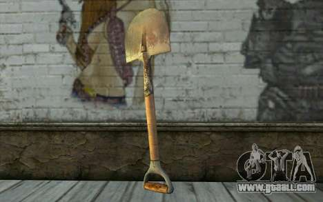Shovel (DayZ Standalone) for GTA San Andreas second screenshot