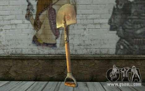 Shovel (DayZ Standalone) for GTA San Andreas second screenshot