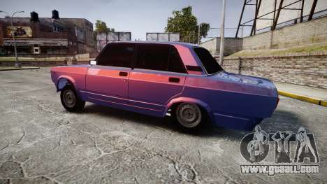 VAZ-2105 hooligan style for GTA 4 left view