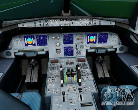 Airbus A321-200 Myanmar Airways International for GTA San Andreas interior