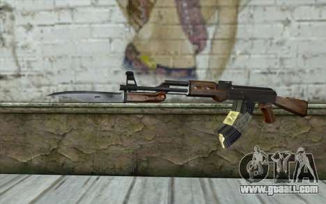 AK47 from Firearms v1 for GTA San Andreas