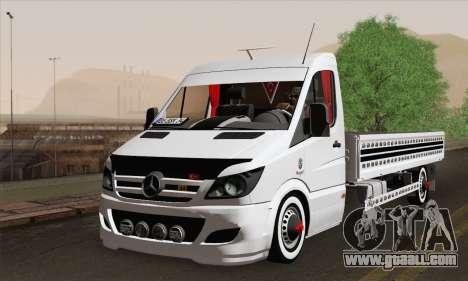 Mercedes-Benz Sprinter Etiket Kamyonet for GTA San Andreas