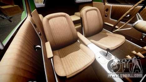 Chevrolet Corvette Stingray 1963 for GTA 4 side view