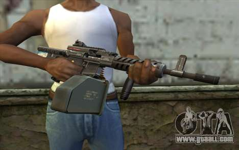 Gun Ares Shrike for GTA San Andreas third screenshot