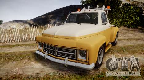 Vapid Tow Truck Jackrabbit v2 for GTA 4
