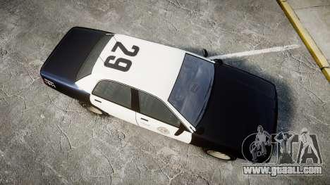 GTA V Vapid Cruiser LSP [ELS] Slicktop for GTA 4 right view