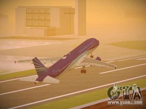 Airbus A320-214 Azerbaijan Airlines AZAL for GTA San Andreas interior