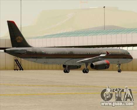 Airbus A321-200 Royal Jordanian Airlines for GTA San Andreas