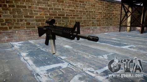 Rifle M16A4 ACOG for GTA 4