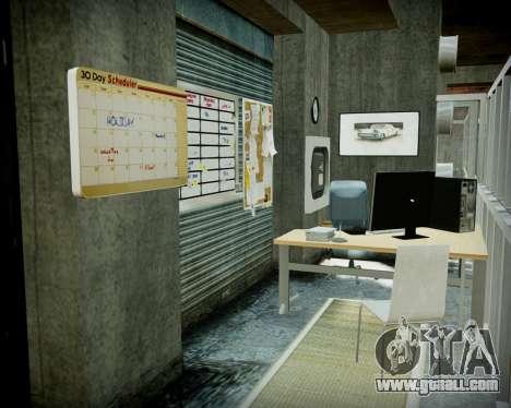 Garage with new interior Alkaline for GTA 4 eleventh screenshot