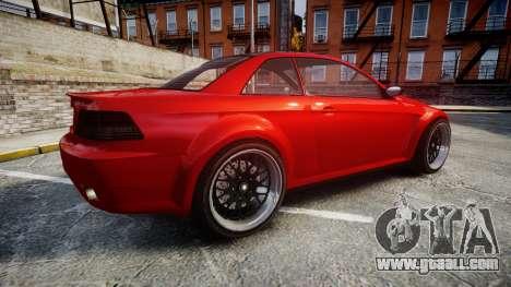 GTA V Ubermacht Sentinel XS for GTA 4 left view
