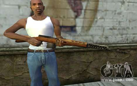 SVT-40 for GTA San Andreas third screenshot