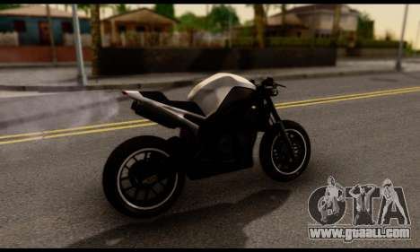 TBOGT Akuma for GTA San Andreas back left view