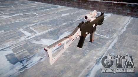 Gun UMP45 Cherry blossom for GTA 4 second screenshot