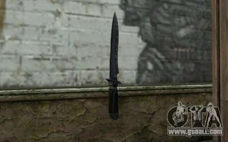 Knife from CS:S Bump Mapping v2 for GTA San Andreas second screenshot