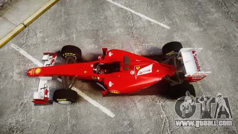 Ferrari 150 Italia Track Testing for GTA 4 right view