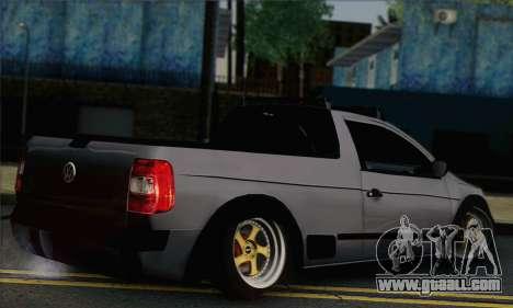 Volkswagen Saveiro Slammed for GTA San Andreas left view