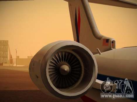 Bombardier CRJ-700 American Eagle for GTA San Andreas engine
