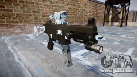 Gun UMP45 Skulls for GTA 4