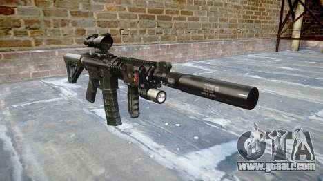 Machine Tactical M4A1 CQB for GTA 4