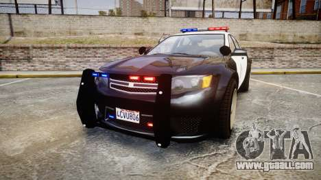 GTA V Cheval Fugitive LS Police [ELS] for GTA 4
