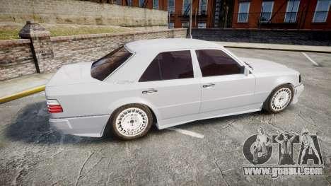 Mercedes-Benz E500 1998 Tuned Wheel White for GTA 4 left view
