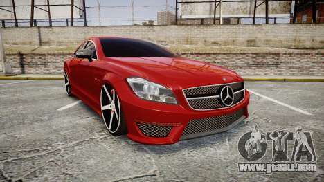 Mercedes-Benz CLS 63 AMG Vossen for GTA 4