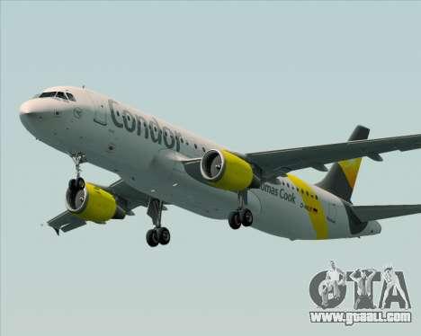 Airbus A320-212 Condor for GTA San Andreas wheels