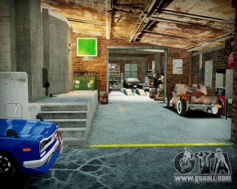 Garage with new interior Alkaline for GTA 4 ninth screenshot