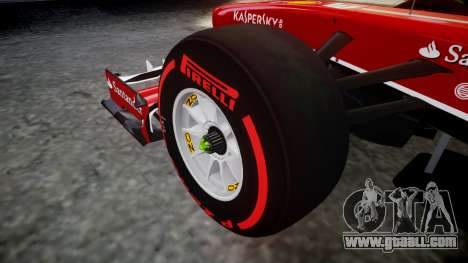 Ferrari F138 v2.0 [RIV] Alonso TSSD for GTA 4 back view