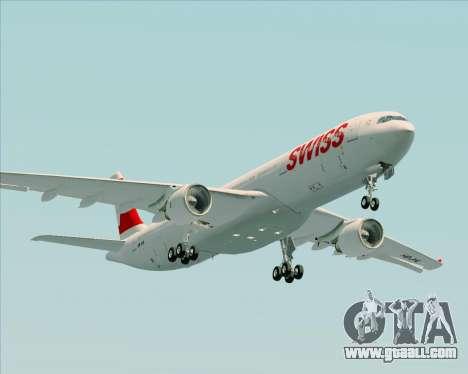 Airbus A330-300X Swiss International Air Lines for GTA San Andreas