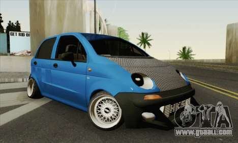 Daewoo Matiz Tuned for GTA San Andreas