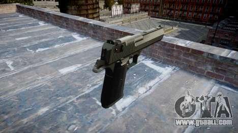 Gun IMI Desert Eagle Mk XIX Black for GTA 4 second screenshot