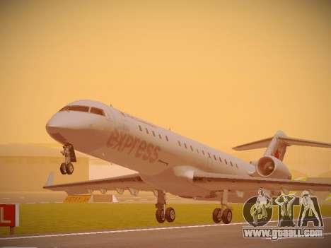 Bombardier CRJ-700 Air Canada Express for GTA San Andreas