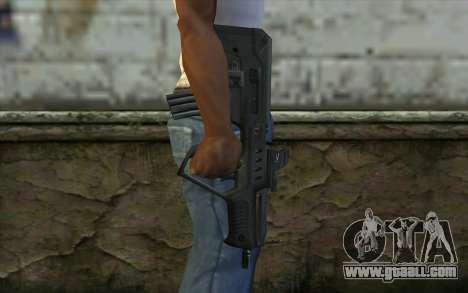 TAR-21 Bump Mapping v4 for GTA San Andreas third screenshot