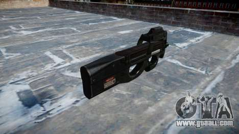 Gun Fabrique Nationale P90 for GTA 4 second screenshot