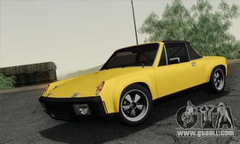 Porsche 914 for GTA San Andreas