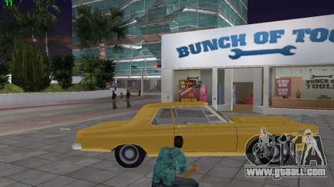Dodge 330 Max Wedge Ramcharger 1963 for GTA Vice City back view