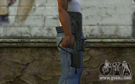 TAR-21 Bump Mapping v3 for GTA San Andreas third screenshot