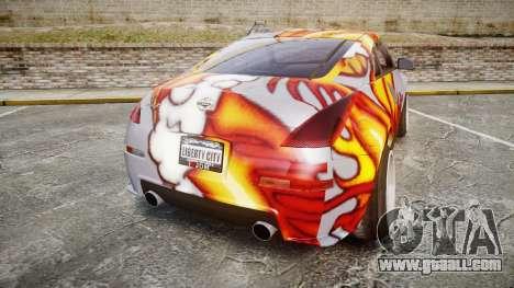 Nissan 350Z EmreAKIN Edition for GTA 4 back left view