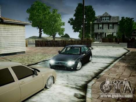 VAZ 2172 for GTA 4 back view
