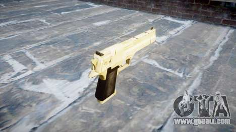 Пистолет Desert Eagle PointBlank Gold for GTA 4 second screenshot