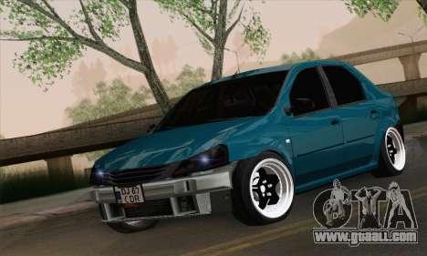 Dacia Logan 1.6 DJ for GTA San Andreas